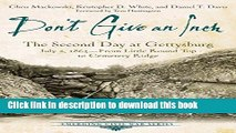 Books Don t Give an Inch: The Second Day at Gettysburg, July 2, 1863 (Emerging Civil War Series)