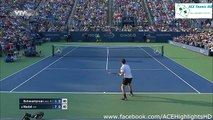 Rafael Nadal vs Diego Schwartzman 2015 US Open Round 2 Highlights HD720p50 by ACE