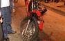 Accidente entre un auto y una moto dejo una persona herida en el sur de Guayaquil
