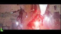 Avengers 2 All Fight Scenes Part 3 _ Vision vs Thor - Iron Man vs Cap Fight Scene - Final Battle HD