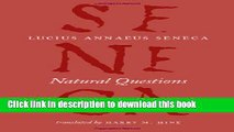 Books Natural Questions (The Complete Works of Lucius Annaeus Seneca) Free Online