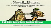 Ebook Courtly Dance of the Renaissance: A New Translation and Edition of the Nobiltà Di Dame