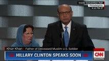 Father of fallen Muslim soldier's powerful DNC speech (Khizr Khan full speech)
