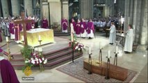 Thousands mourn priest killed in French church attack