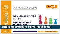PDF  CIMA Revision Card Fundamentals of Business Maths (CIMA Certificate Level 2008)  Free Books