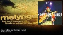 Koffi Olomidé - Apostolou Ya Bolingo - Live