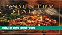 Ebook Favorite Brand Name: Country Italian (Favorite Brand Name Recipes) Free Download