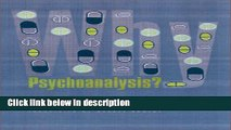 Books Why Psychoanalysis? (European Perspectives: A Series in Social Thought and Cultural