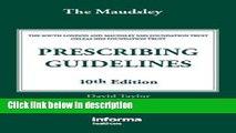 Ebook The Maudsley Prescribing Guidelines, Tenth Edition (Taylor, The Maudsley Prescribing