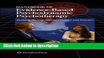 Ebook Handbook of Evidence-Based Psychodynamic Psychotherapy: Bridging the Gap Between Science and