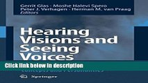Ebook Hearing Visions and Seeing Voices: Psychological Aspects of Biblical Concepts and