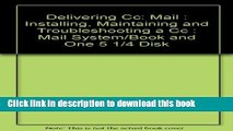 Ebook Delivering Cc: Mail : Installing, Maintaining and Troubleshooting a Cc : Mail System/Book