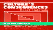 Books Culture s Consequences: International Differences in Work-Related Values (Cross Cultural