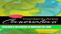 Ebook Content-Area Conversations: How to Plan Discussion-Based Lessons for Diverse Language