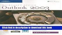 Books Outlook 2003: Advanced [With 2 CDROMs] (ILT) Full Online