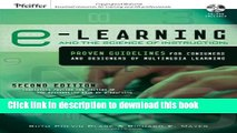Download  e-Learning and the Science of Instruction: Proven Guidelines for Consumers and Designers