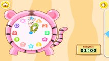 Around The Clock, Kids learn clock, Baby Panda Education App for Toddlers by Babybus
