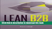 Download  Lean B2B: Build Products Businesses Want  Online