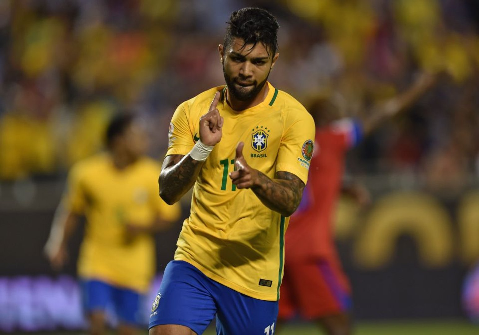 Gabriel Barbosa - All Goals & Skills - Brazil National Team - Olympics Rio 2016 - HD