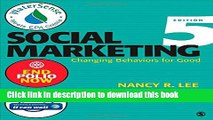 Books Social Marketing: Influencing Behaviors for Good Free Online