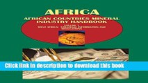 Books African Countries Mineral Industry Handbook Volume 1 West Africa: Strategic Information and