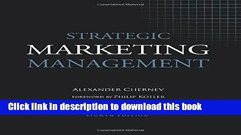 Ebook Strategic Marketing Management Full Online