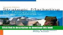 Ebook Strategic Marketing for Non-Profit Organizations (7th Edition) Free Online