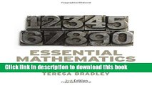Ebook Essential Mathematics for Economics and Business Free Online