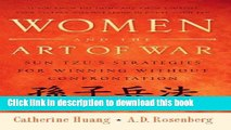 Books Women and the Art of War: Sun Tzu s Strategies for Winning Without Confrontation Full Online