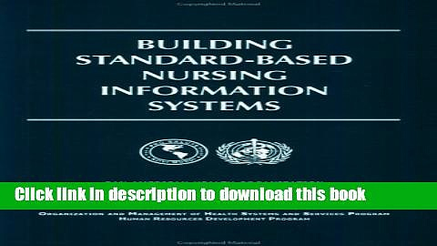 Ebook Building Standard-Based Nursing Information Systems (PAHO Occasional Publication) Full