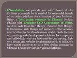 Web Design - INETSOLUTION - Freelance SEO Consultant Chennai