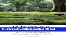 Books Khmer (Cambodian)-English/English-Khmer (Cambodian) Dictionary   Phrasebook Free Online