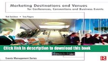 Books Marketing Destinations and Venues for Conferences, Conventions and Business Events (Events