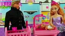 Elsa in Tangled Mini Movie Flynn Saves Rapunzel from Mother Gothel Final Part 3 DisneyToysFan