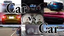 Mercedes AMG C63 S Coupe vs BMW M4 F82 - Acceleration 0-300km h, Revs & Exhaust Sound