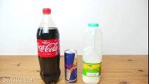 Kola, Süt Ve Enerji İçeceği Karışırsa