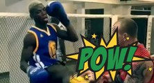 Quand Pogba se met à la boxe thaï