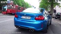 BMW M4 vs BMW M2 - Acceleration 0-200km h, Revs & Exhaust Sound