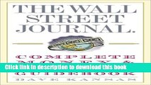 Ebook The Wall Street Journal Complete Money and Investing Guidebook (The Wall Street Journal