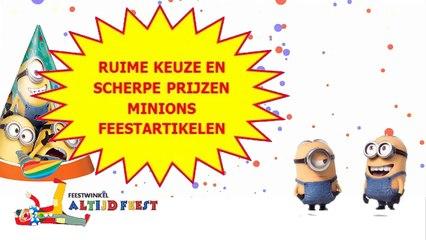 Een Minions verjaardag vier je met Feestwinkel Altijd Feest!