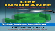 Books Life Insurance - Will it pay when I die? Free Online