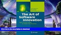 FAVORIT BOOK The Art of Software Innovation: Eight Practice Areas to Inspire your Business READ