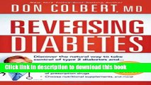 Books Reversing Diabetes: Discover the Natural Way to Take Control of Type 2 Diabetes Full Online