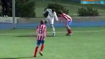 Le dribble spectaculaire de Jesé Rodriguez à 16 ans face à l'Atletico Madrid. - Real Madrid