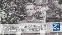 Une polémique accuse Trump d'avoir évité la guerre du Vietnam en mentant