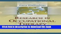 Books Research in Occupational Therapy: Methods of Inquiry for Enhancing Practice Free Online
