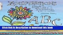 Download Zenspirations: Letters   Patterning PDF Online