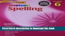 Books Spelling, Grade 6 (Spectrum) Full Download