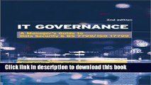 Download  It Governance: A Manager s Guide to Data Security   BS 7799/ISO 17799  Free Books