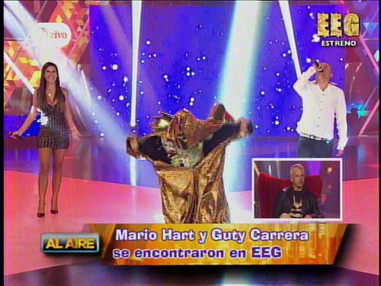 El encuentro de Guty y Mario Hart